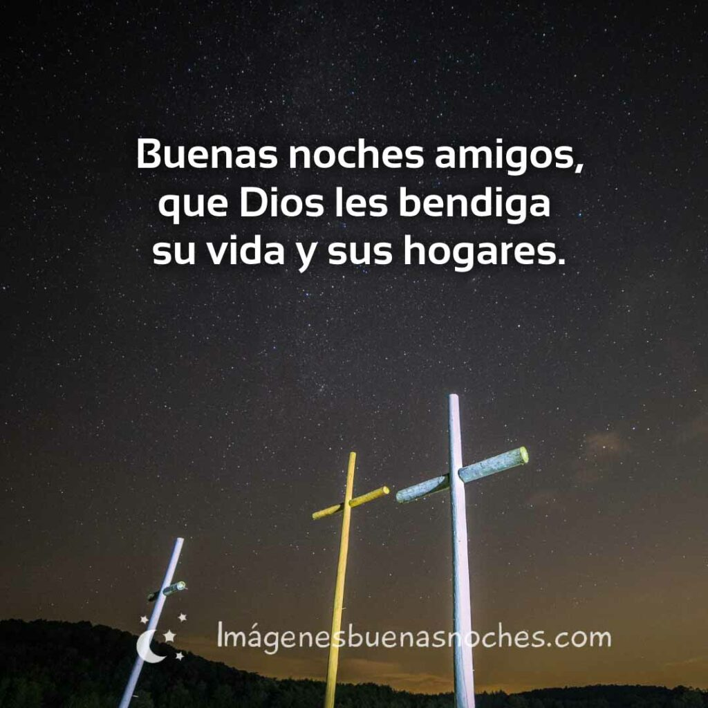 Buenas noches bendiciones