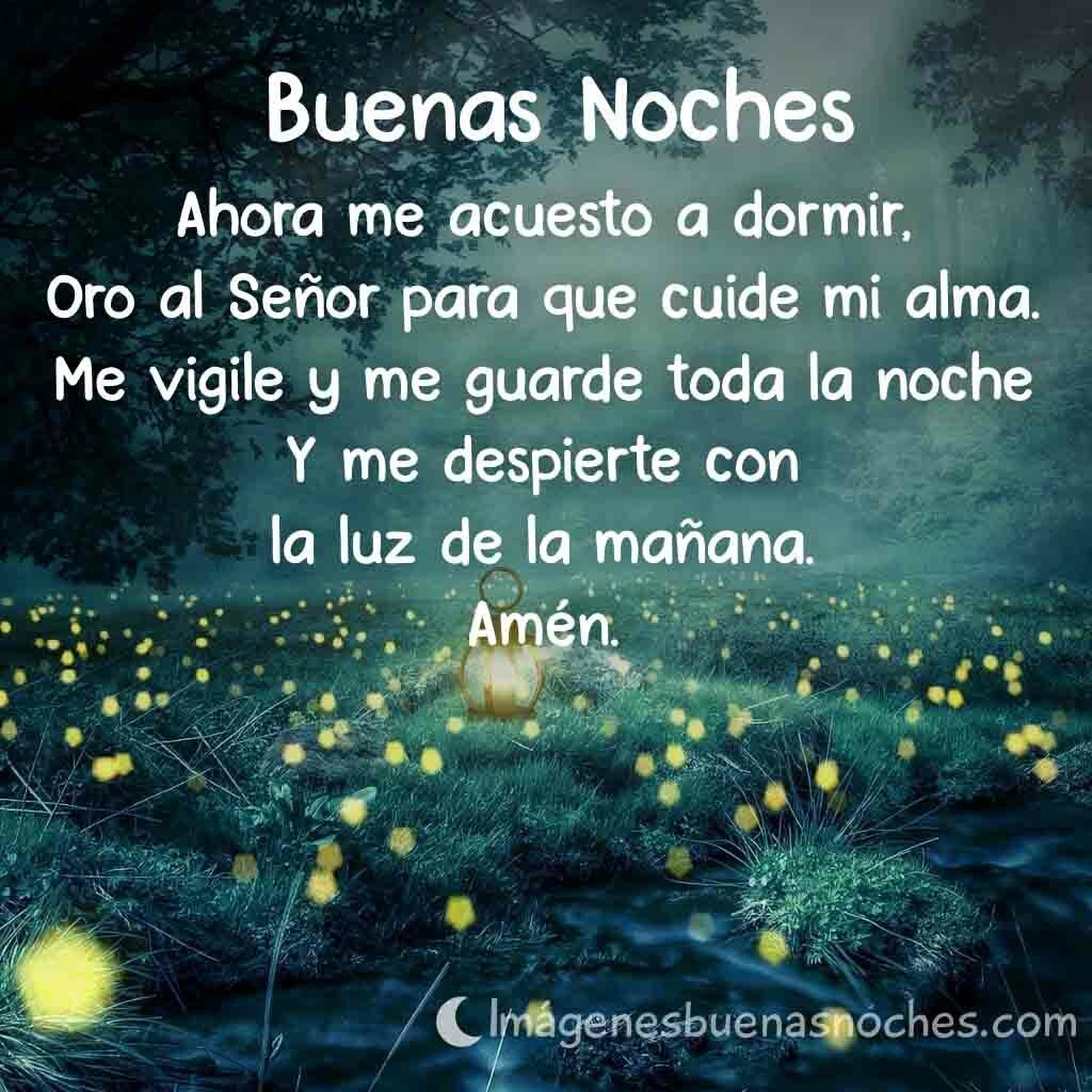 Oraciones Buenas Noches